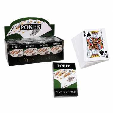2x pakjes poker speelkaarten 54 stuks