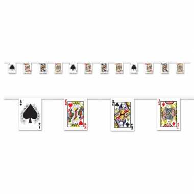 Casino kaartspel slinger 4 meter