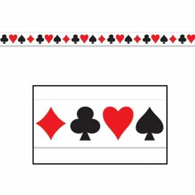 Casino markeerlint kaartspel 6 meter